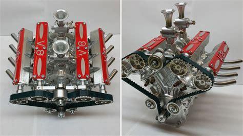 V8 Bausatz Montagefertig Zum Selber Bauen