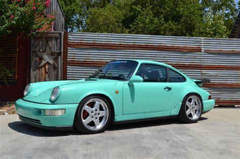 porsche mint green 1989 mint green porsche 911 ruf rct evo rare cars for