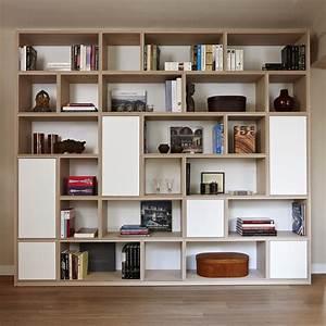 Bibliothèque Avec Porte : biblioth que 3 tiroirs 3 portes fond blanc cube 33 mise en sc ne ~ Teatrodelosmanantiales.com Idées de Décoration