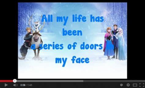 frozen song lyrics  android  monkeyapp