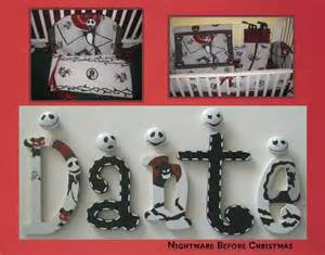 White Camo Bathroom Set by Nightmare Before Christmas Jack Skellington Painted Letters