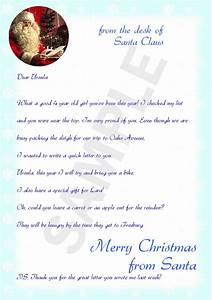 make a letter from santa letter of recommendation With a letter from santa