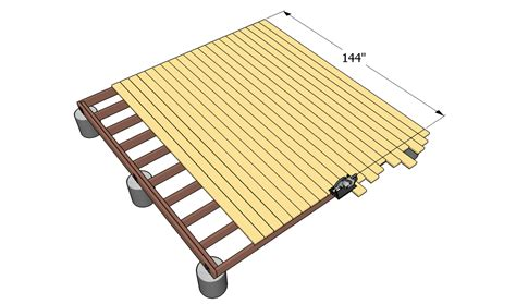 ground level deck plans  outdoor plans diy shed