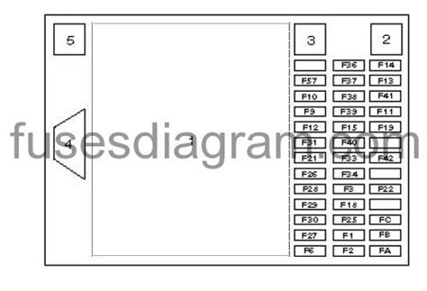 Renault Espace Fuse Box Diagram Manual by Fuse Box Renault Espace 3