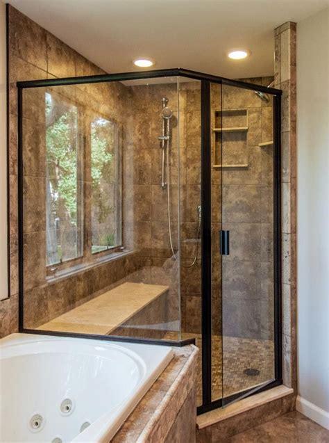 ryans  glass creating  beautiful bathroom retreat