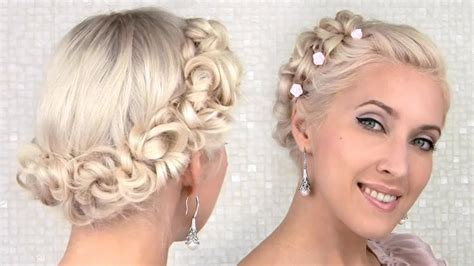 Easy Prom/wedding Updo Hairstyle For Medium Long Hair