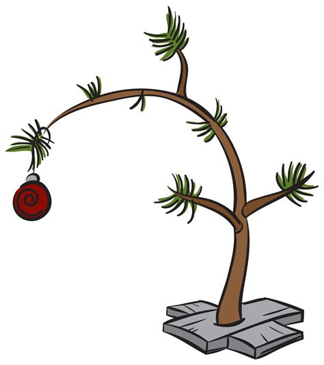 peanuts christmas tree clipart clipart suggest