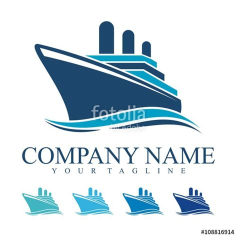 U0026quot;Ship Logo Cruise Ship Logo Design Vectoru0026quot; Stock Image And Royalty-free Vector Files On Fotolia ...