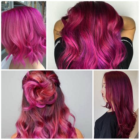 magenta hair color 23 ideas for trendy magenta hair color hairstyles for