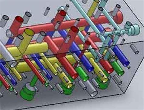 Hydraulic Modification Definition by Three Dimensional Parametric Design Of Manifold Blocks
