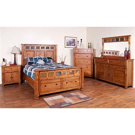 Rustic Oak & Slate Collection  Rustic Oak Sonoma Bedroom