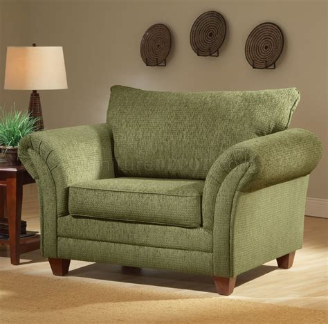 light forest green fabric modern living room sofa