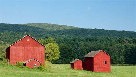 Red Barns Of The Berkshires