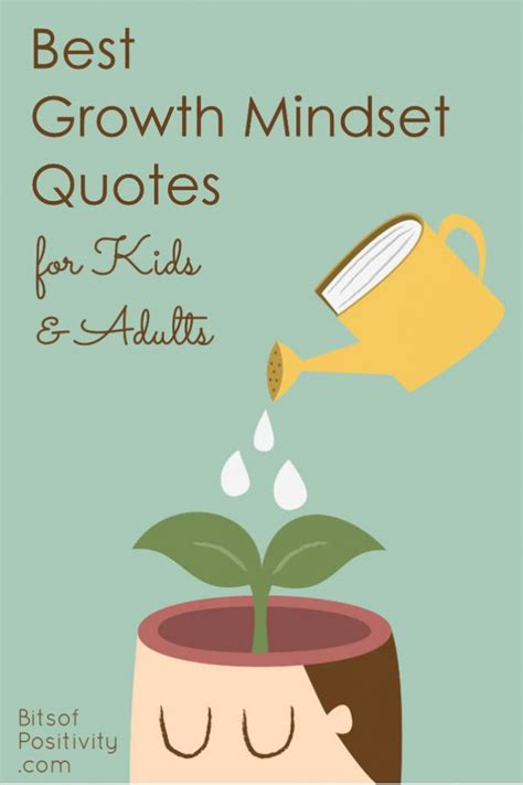 growth mindset quotes  kids  adults bits