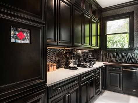 black kitchens    white hgtvs decorating design blog hgtv