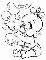 Bubbles Coloring Pages Blowing Babies Hopkins Printable Getcolorings Template sketch template