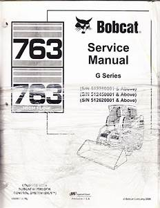 Bobcat 773 Wiring Schematic  Bobcat  Free Engine Image For User Manual Download