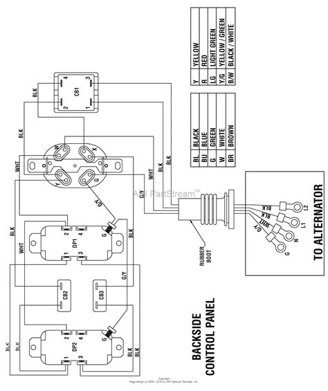wiring diagram for coleman powermate generator wiring diagram for coleman generator 0525300 19