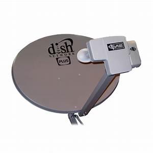 Dish Network Dish 500 Plus Antenna W  129 Bracket 110 118 7 119  Esdpp500plmp