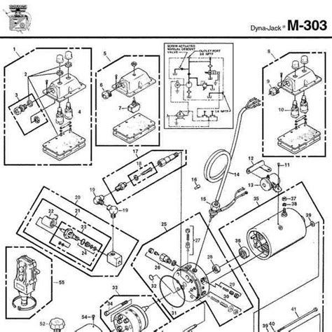 Monarch Wiring Diagram by Monarch Hydraulics M 303 Parts Diagram From Dynamics
