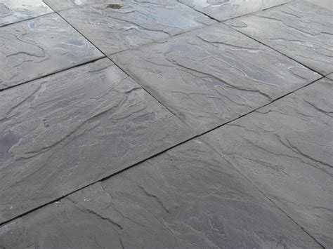 cheap riven black paving slabs lsd uk
