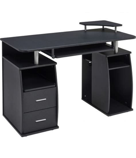 black office desk the best office tables black and white we nails