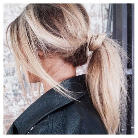 cute ponytail hairstyles     change