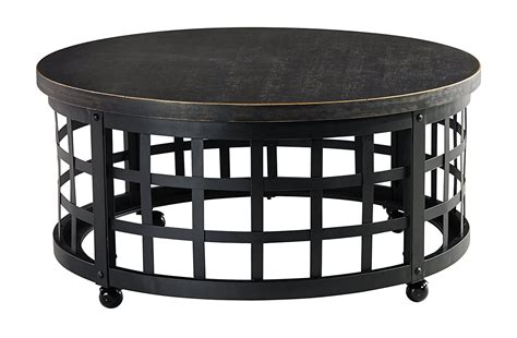 The black and red combination is common and classical. Black Iron Coffee Table - Decor Ideas