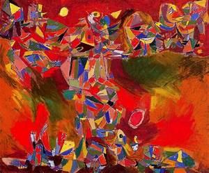 Røde syner (1944) Asger Jorn