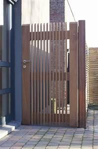 Portillon Bois Jardin : porte de jardin bois portillon standard sobc85 ~ Preciouscoupons.com Idées de Décoration