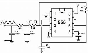 how to build a triangle wave generator circuit With triangle squarewave generator