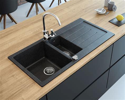 kitchen cabinet with sink zlewozmywak granitowy 1 5 komorowy z ociekaczem decoro 1