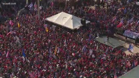 Million MAGA March: Wasington DC mask mandate ignored ...