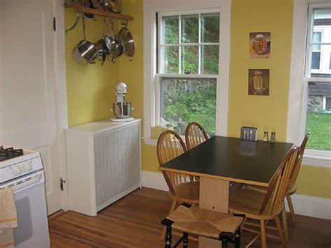 yellow kitchen paint