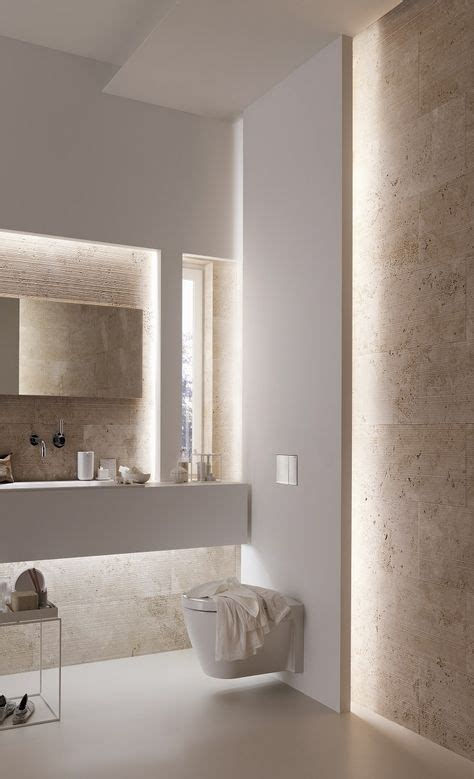 All Modern Bathroom Lighting by This Bathroom Has All The Appeal Of A Spa With Beautiful