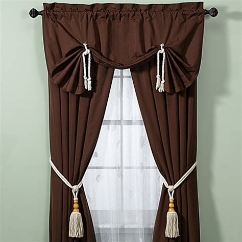croscill 174 regalia window curtain panel bed bath beyond
