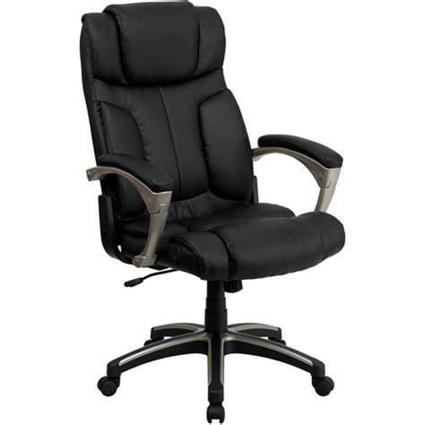 Back Chair Walmart by Flash Furniture High Back Folding Leather Executive Office