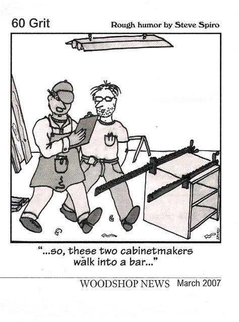 cabinetmakers walk   bar woodworking humor