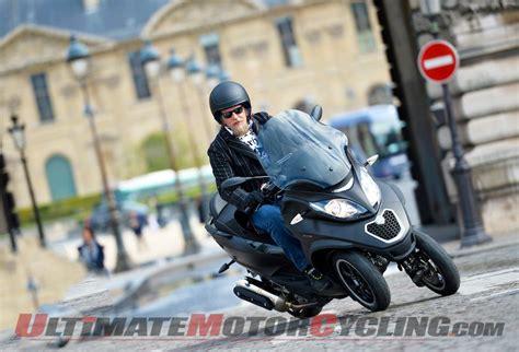 2014 Piaggio Mp3 500 First Ride Test