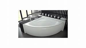 Baignoire Avec Tablier : baignoire venezia 150 150 72 cm baignoire salle de bain ~ Premium-room.com Idées de Décoration