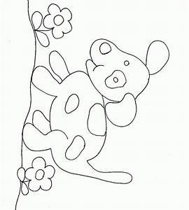 Modèle De Dessin Facile : imprime le dessin colorier de chien ~ Melissatoandfro.com Idées de Décoration