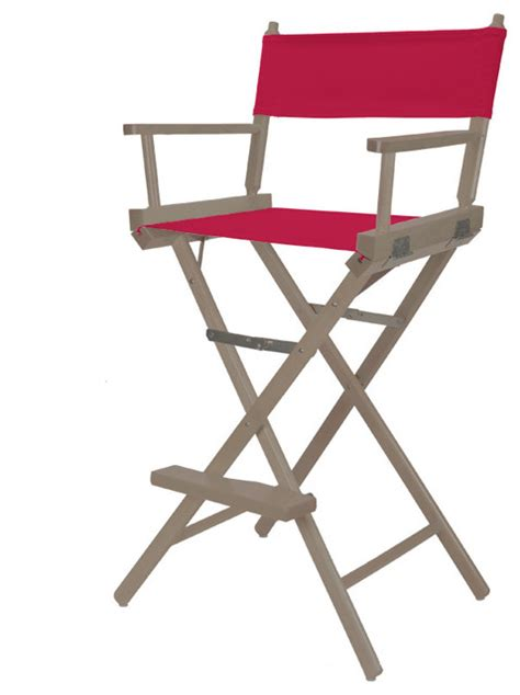 Bar Height Chairbar Height Directors Chair In Pink At