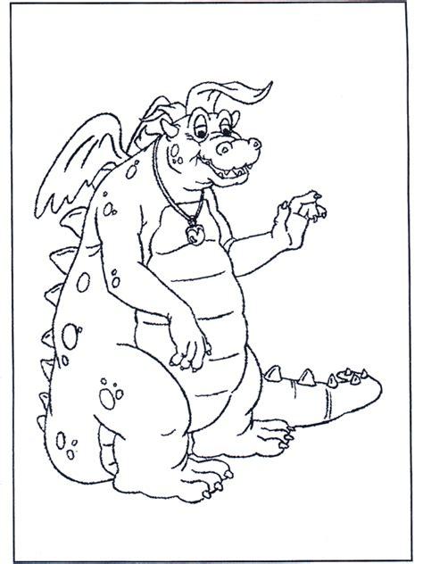 kleurplaten draak draken en dinos