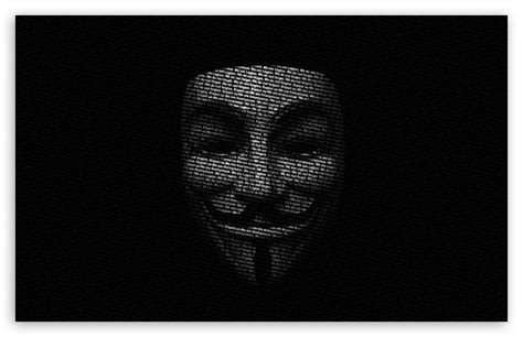 Anonymous Mask 4k Hd Desktop Wallpaper For 4k Ultra Hd Tv