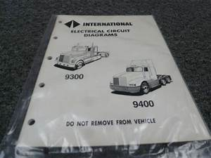 1990 International 9100 9200 9300 9400 9900 Electrical