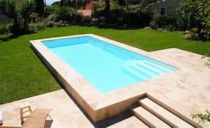 Piscine Semi Enterrée Coque : piscine semi enterree rectangulaire digpres ~ Melissatoandfro.com Idées de Décoration