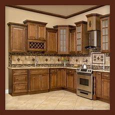 All Solid Wood Kitchen Cabinets Geneva 10x10 Rta  $1,499