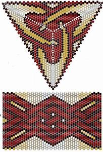 82 Best Triangle Peyote Patterns Images On Pinterest