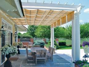 Outdoor Pergolas Attached to House
