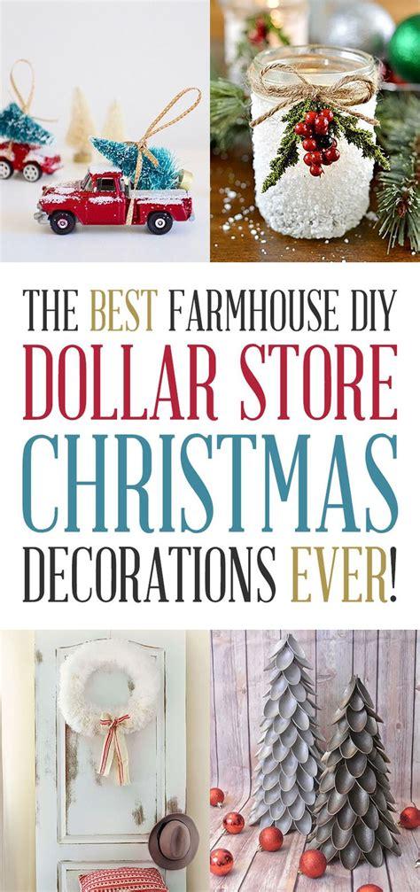 farmhouse diy dollar store christmas decorations